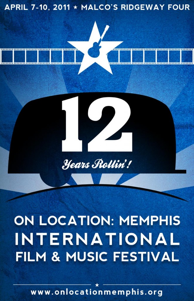 On Location Memphis 12 Official Poster Art