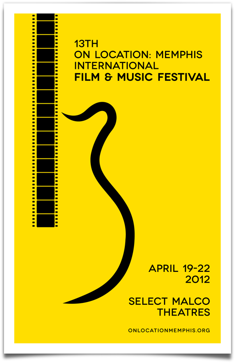 Official Memphis International Film Fest 2012 Poster Art