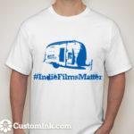 T-Shirt Image Blue