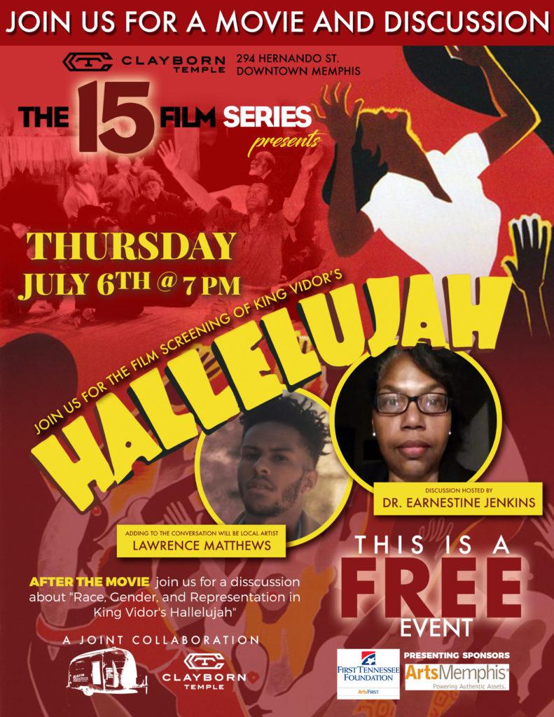 Hallelujah Movie Flyer